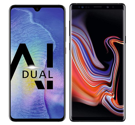 Smartphone Comparison: Huawei mate 20 vs Samsung galaxy note 9