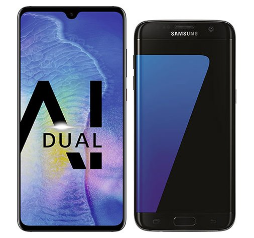 Smartphone Comparison: Huawei mate 20 vs Samsung galaxy s7 edge