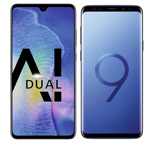 Smartphone Comparison: Huawei mate 20 vs Samsung galaxy s9 plus