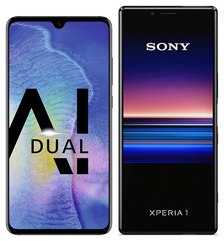 Smartphone Comparison: Huawei mate 20 vs Sony xperia 1