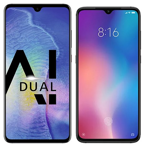 Smartphone Comparison: Huawei mate 20 vs Xiaomi mi 9