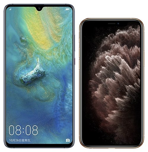 Smartphonevergleich: Huawei mate 20 x oder Iphone 11 pro max