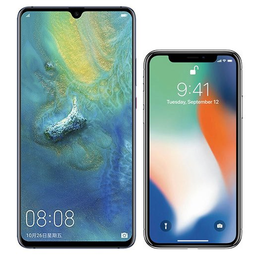 Smartphone Comparison: Huawei mate 20 x vs Iphone x