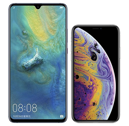 Smartphone Comparison: Huawei mate 20 x vs Iphone xs