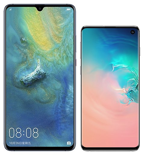 Smartphone Comparison: Huawei mate 20 x vs Samsung galaxy s10