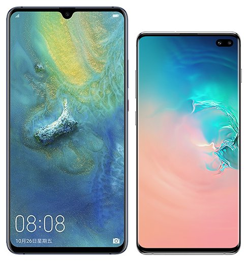 Smartphone Comparison: Huawei mate 20 x vs Samsung galaxy s10 plus