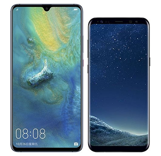 Smartphone Comparison: Huawei mate 20 x vs Samsung galaxy s8 plus