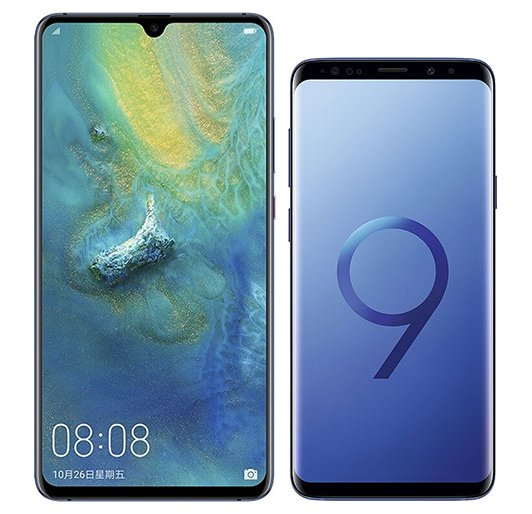Smartphone Comparison: Huawei mate 20 x vs Samsung galaxy s9 plus