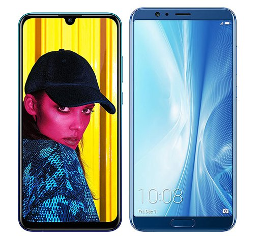 Smartphonevergleich: Huawei p smart 2019 oder Honor view 10