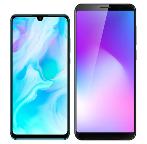 Smartphone Comparison: Huawei p30 lite vs Cubot power