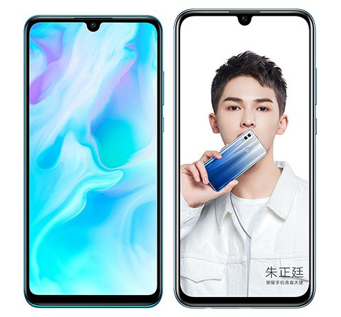 Smartphone Comparison: Huawei p30 lite vs Honor 10 lite