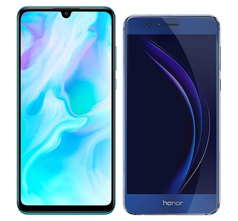 Smartphone Comparison: Huawei p30 lite vs Honor 8