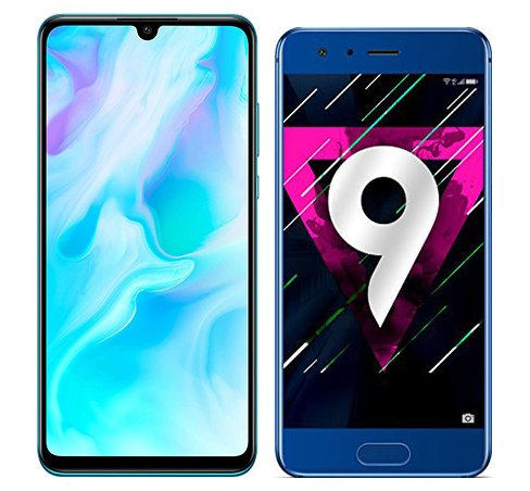 Smartphone Comparison: Huawei p30 lite vs Honor 9