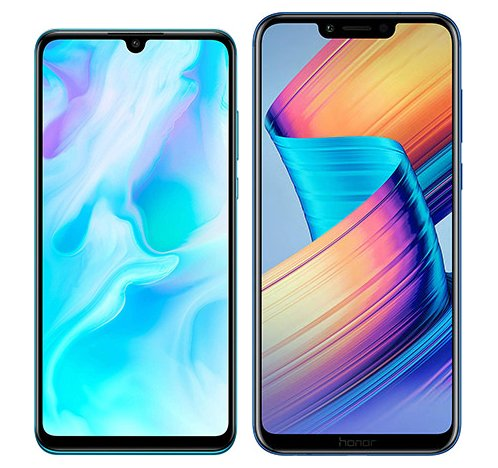 Smartphone Comparison: Huawei p30 lite vs Honor play