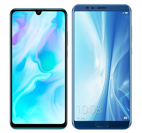 Smartphone Comparison: Huawei p30 lite vs Honor view 10