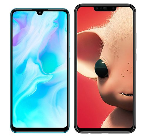 Smartphone Comparison: Huawei p30 lite vs Huawei p smart plus
