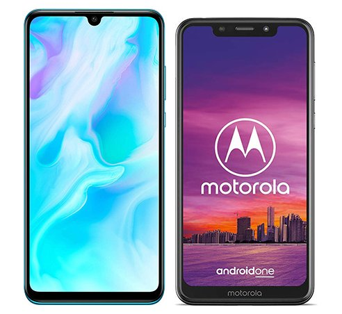 Smartphone Comparison: Huawei p30 lite vs Motorola one