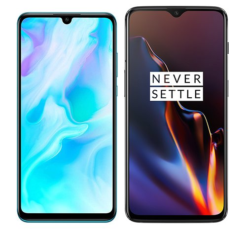 Smartphonevergleich: Huawei p30 lite oder One plus 6t