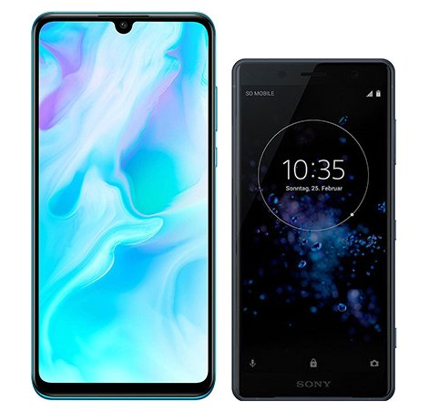 Smartphonevergleich: Huawei p30 lite oder Sony xperia xz2 compact