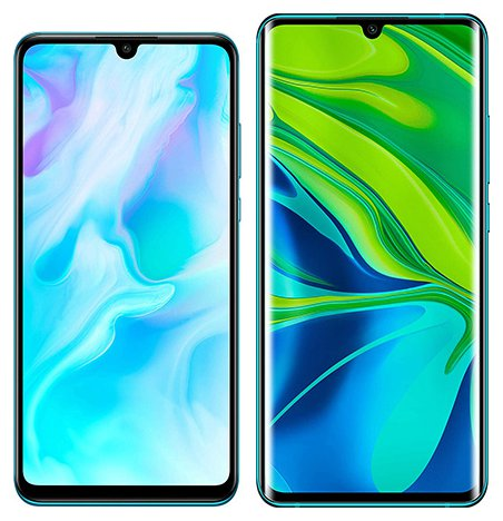Smartphone Comparison: Huawei p30 lite vs Xiaomi note 10