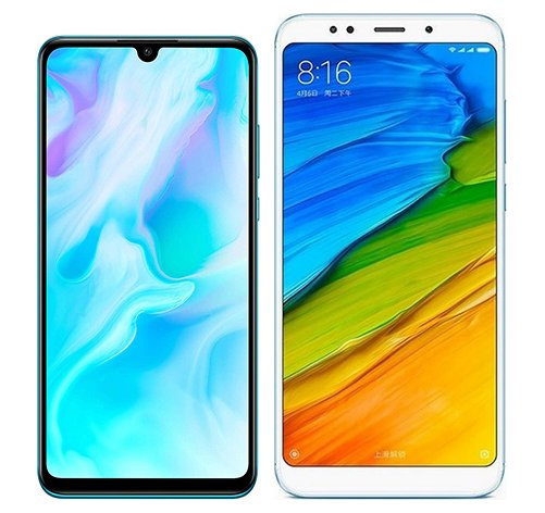 Smartphone Comparison: Huawei p30 lite vs Xiaomi redmi 5 plus