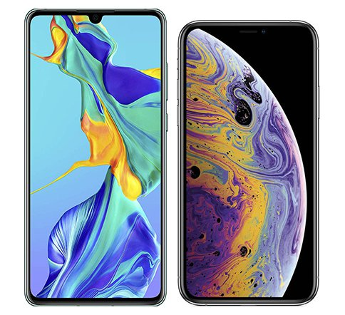 Smartphonevergleich: Huawei p30 oder Iphone xs