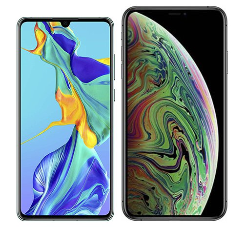 Smartphonevergleich: Huawei p30 oder Iphone xs max