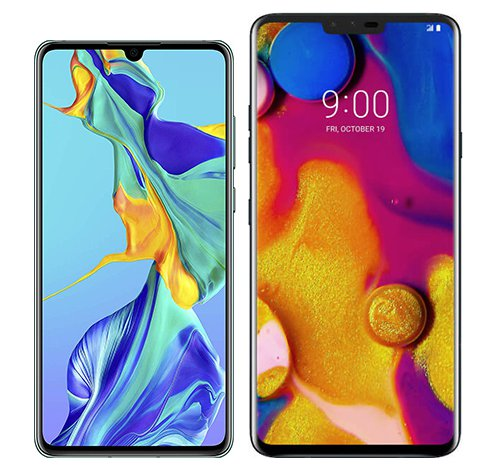 Smartphonevergleich: Huawei p30 oder Lg v40 thinq