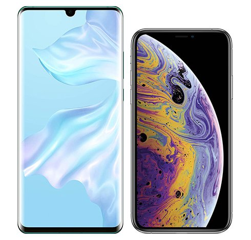 Smartphonevergleich: Huawei p30 pro oder Iphone xs