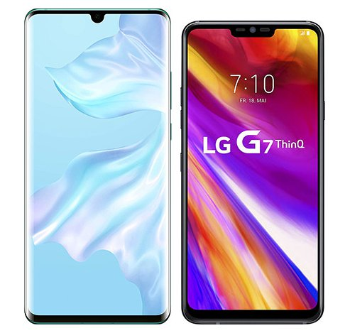 Smartphonevergleich: Huawei p30 pro oder Lg g7 thinq