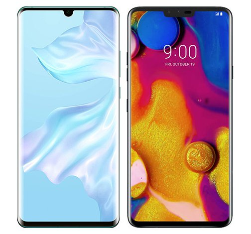 Smartphonevergleich: Huawei p30 pro oder Lg v40 thinq