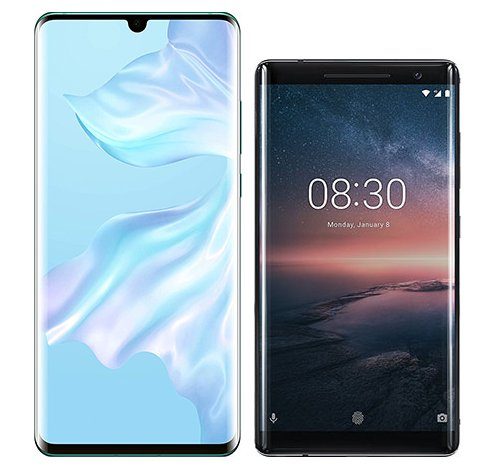 Smartphonevergleich: Huawei p30 pro oder Nokia 8 sirocco