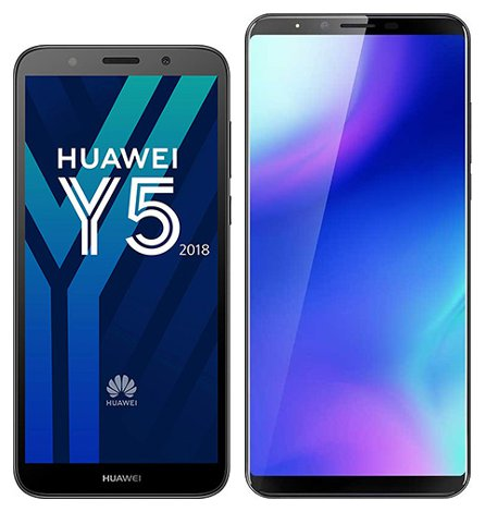 Smartphonevergleich: Huawei y5 2018 oder Cubot x18 plus