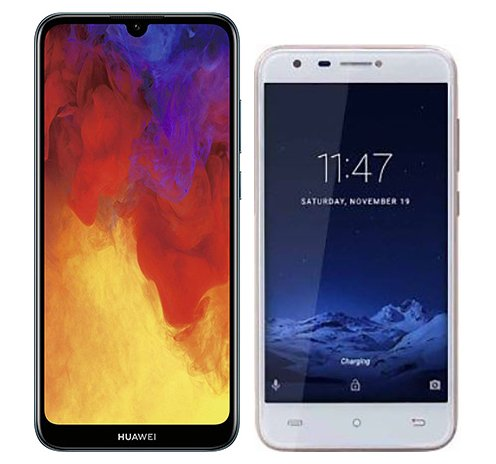 Smartphonevergleich: Huawei y6 2019 oder Cubot hafury mix