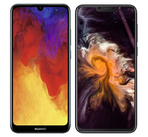 Smartphonevergleich: Huawei y6 2019 oder Cubot p20