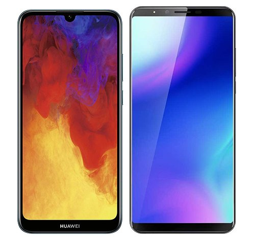 Smartphonevergleich: Huawei y6 2019 oder Cubot x18 plus