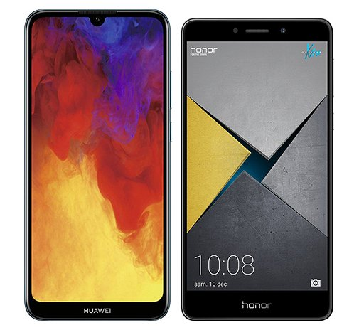Smartphonevergleich: Huawei y6 2019 oder Honor 6x pro