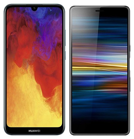 Smartphonevergleich: Huawei y6 2019 oder Sony xperia l3