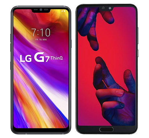 Smartphonevergleich: Lg g7 thinq oder Huawei p20 pro
