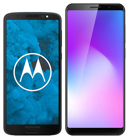 Smartphone Comparison: Motorola moto g6 vs Cubot power