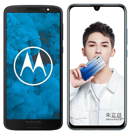 Smartphone Comparison: Motorola moto g6 vs Honor 10 lite