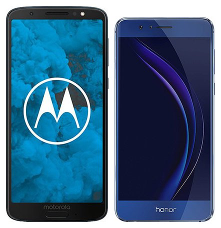 Smartphone Comparison: Motorola moto g6 vs Honor 8