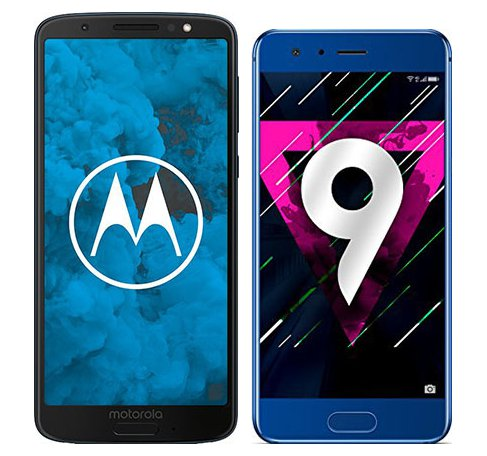 Smartphone Comparison: Motorola moto g6 vs Honor 9