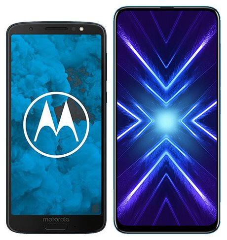 Smartphone Comparison: Motorola moto g6 vs Honor 9x