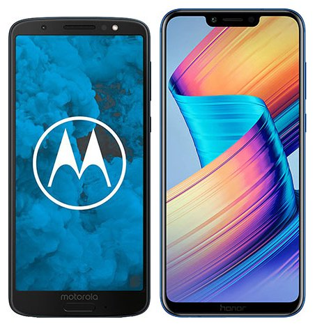 Smartphone Comparison: Motorola moto g6 vs Honor play
