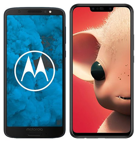 Smartphone Comparison: Motorola moto g6 vs Huawei p smart plus