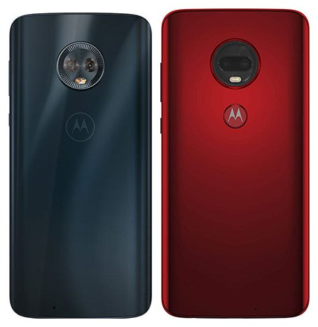Moto G6 vs Moto G7 Plus. View of main cameras