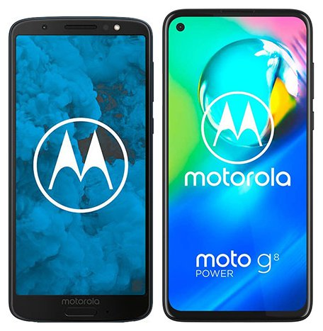 Smartphone Comparison: Motorola moto g6 vs Motorola moto g8 power