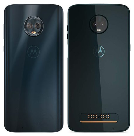 Moto G6 vs Moto Z3 Play. View of main cameras