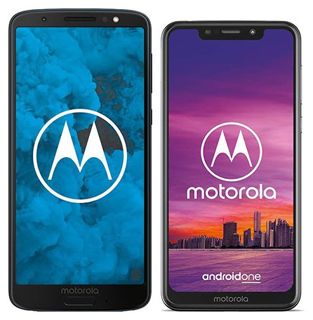 Smartphone Comparison: Motorola moto g6 vs Motorola one